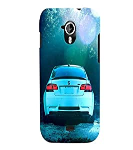 Fuson 3D Printed Car Designer back case cover for Micromax Canvas HD A116 - D4500