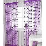 suchergebnis auf f r gardinen lila. Black Bedroom Furniture Sets. Home Design Ideas