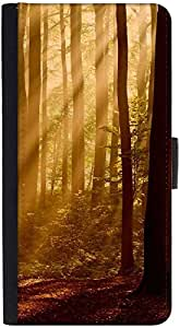 Snoogg Evebibg Forest Designer Protective Phone Flip Back Case Cover For Xiaomi Redmi Note 3