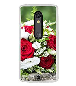 ifasho Designer Back Case Cover for Motorola Moto X Play (Rhododendron Hold  Rose Lotion Pride Best Establishment Society)