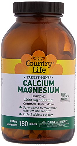 country-life-target-mins-calcium-magnesium-complex-1000-mg-500-mg-180-tablets