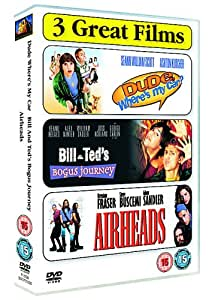 Bill And Ted's Bogus Journey/Airheads/Dude, Where's My Car? [DVD]