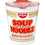 Nissin noodle soup cup 59g × 20 pieces