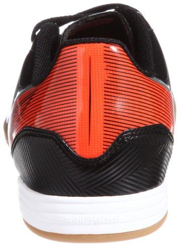 adidas F10 IN G96446 Herren Fußballschuhe Schwarz (Black 1 / Running White Ftw / Infrared)