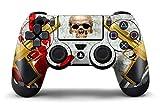 PS4 Controller Design Folie Aufkleber Sticker Skin fur Sony PlayStation 4 DualShock Wireless Controller - Ghost Ops