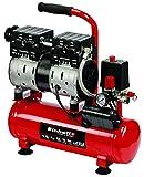 Einhell 4020600 TE-AC 6 Silent Kompressor, Rot, Schwarz