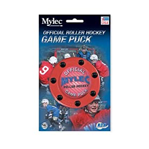 Blue Sports Kinder Hockey Official Game Puck, Red, by Blue Sports Kinder