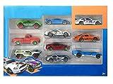#9: Techhark Metal Gift set Toys 10 pcs Car Set