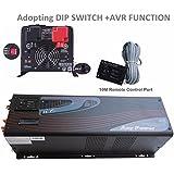 mabelstar 5000W pico 15000W onda sinusoidal pura inversor de corriente con estabilizador regulador de voltaje automático (AVR) PS serie inversor 230VAC salida DC 24V convertidor LCD pantalla
