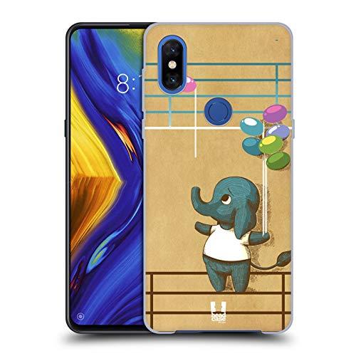 Head Case Designs Fly Away Musical Score Hard Back Case for Xiaomi Mi Mix 3