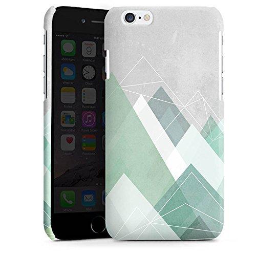 Apple iPhone 5s Housse Outdoor Étui militaire Coque Montagnes Abstrait Graphique Cas Premium brillant