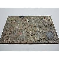 Fan pattern cobble street resin 1//35 Scale Size 250mm x 200mm