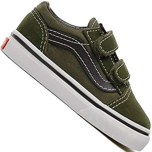 Vans TD Old Skool VA344KU3X Kleinkind-Sneaker Duffel Bag/Black Gr. 24,5 (US T8,0)