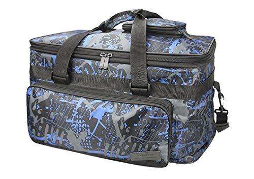 Mmhot-qc Kofferraum Organizer Professionelle Künstlerbedarf Faltbare Handtasche Werkzeugkasten Leinwand Träger Reißverschluss Tote (Farbe : Colorful) -