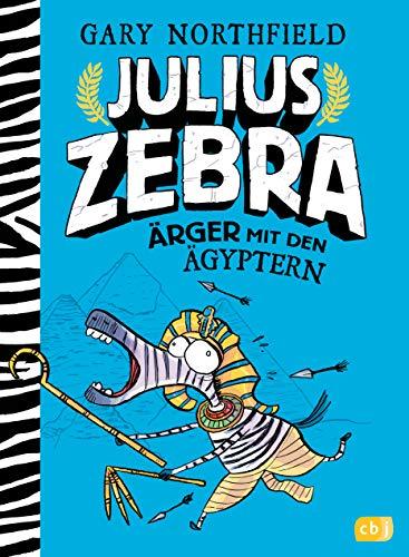 Julius Zebra - Ärger mit den Ägyptern (Die Julius Zebra-Bücher, Band 3) - Zebra-teile