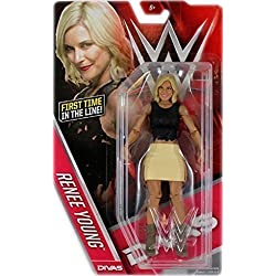 WWE RENEE DIVAS PRESENTATORE WOMENS SERIE 60 MASK BASIC ACTION WRESTLING FIGURE