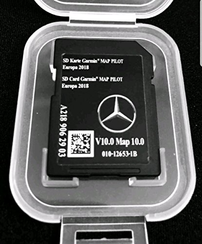 Karte SD GPS Mercedes (Star1) Garmin Map Pilot Europa 2017/2018V9a2189061903 -