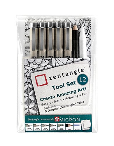 Zentangle - Tool Set 12 Lernstifte