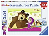 Ravensburger - Pferdeliebe, 2 x 20 Teile Puzzle