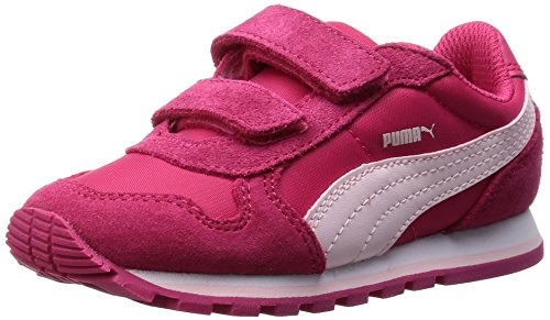 Puma - ST Runner Kids - 35877310 - Couleur: Blanc-Rouge - Pointure: 34.5