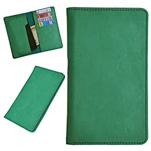DSR Pu Leather case cover for Huawei Honor 3 (green)