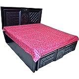 Kuber Industries Plastic Mattress Protector Sheet, Pink