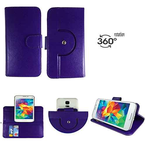 Handy Schutz Hülle   für Oukitel K4000 Plus   360° Drehbare Funcktion  - 360° Nano M Lila