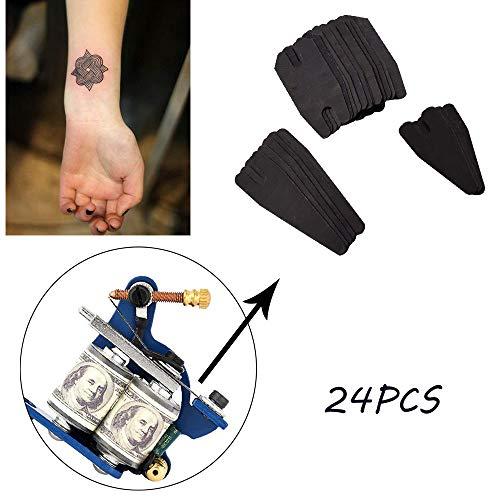 EliaSan Personal Care 24 STÜCKE Tattoo Maschine Reparatur Konventionelle Federn Set Gehärtetem Stahl Supply Kit
