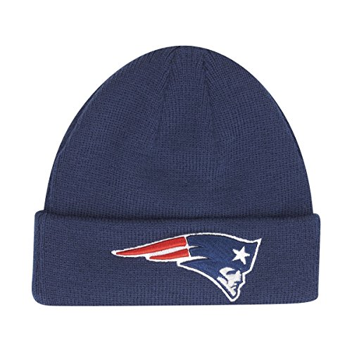 New Era NFL New England Patriots Jr Team Essential Infant Beanie Beany Wool Hat Mütze Säugling (Team-baby Beanie)