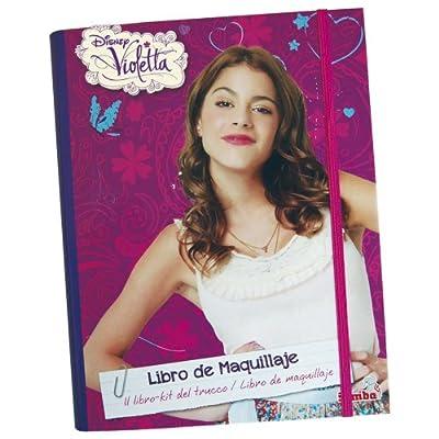 Violetta - Cuaderno de maquillaje completo, 19 x 23 cm (Simba 5017733) de Simba Toys