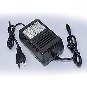 Chargeur / Alimentation 9V compatible avec Synthétiseur Ladyada x0xb0x (Adaptateur Secteur) - prise française