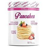 PROTEIN PANCAKES - Gesunder und leckerer Eiweiß Pfannkuchen Mix | Low Fat, High Protein Frühstück | Schnell und einfach zubereitet | Super Konsistenz