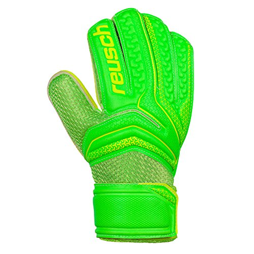 Reusch serathor Easy Fit Junior Kinder Torwart Torwart Keeper Handschuh, grün, 8 (Torwart-handschuh Reusch)