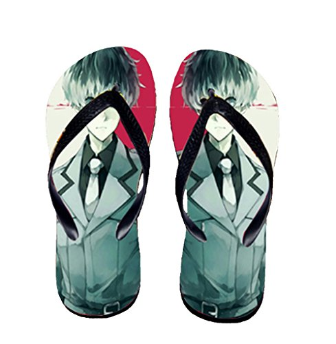 Bromeo Tokyo Ghoul Anime Unisexe Flip Flops Tongs 54