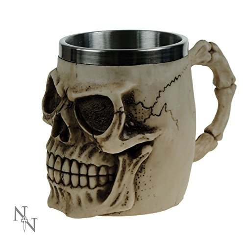 Grinning Skull boccale Nemesis now alta 11 cm