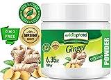 myBioPure ORGANISCHES GINGERPULVER. 100% Pure Natural RAW Glutenfrei, Roh, Non-GMO. SUPER Essen. Für Gesundheit, Backen, Schönheit, Kochen und Nahrungsergänzung. 6,35 oz - 180 gr.