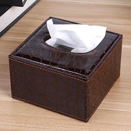pllp Hotel Continental Buch Box, Fashion Square Tissue Box, Büropapier Sucker, Aufbewahrungsbox,D,Einheitsgröße (Square D-box)
