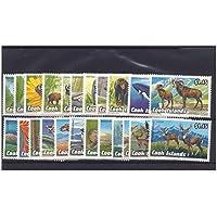 Islas Cook en peligro sellos de vida silvestre 1992 / condición Nuevo sin bisagras - SG1279/301