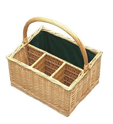 Red Hamper WB007/HOME Picknickkorb braun Größen: (L x B x H) 30 x 38 x 21 cm