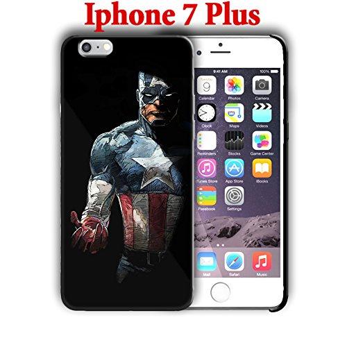 Captain America für iPhone 7Plus 5,5in Harte Schutzhülle (Captain), Muster 4 (Fälle 4 Marvel-comic-iphone)