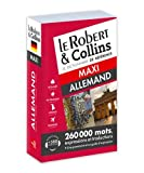 Dictionnaire Le Robert & Collins Maxi allemand
