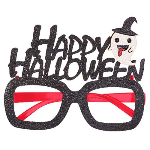 Kostüm Streiche Lustige - Amosfun 1 stück brillengestelle tricky lustige halloween elemente kostüm streich prop party glas hohl brillen für maskerade halloween leistung