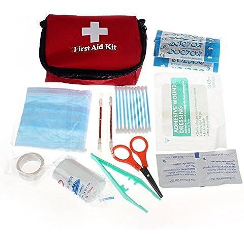 Brovy (TM) 2015nuevo outdoor sport Professinal Pack seguridad y supervivencia Kits de Primeros Auxilios de Protección Bolsa de médico de alta