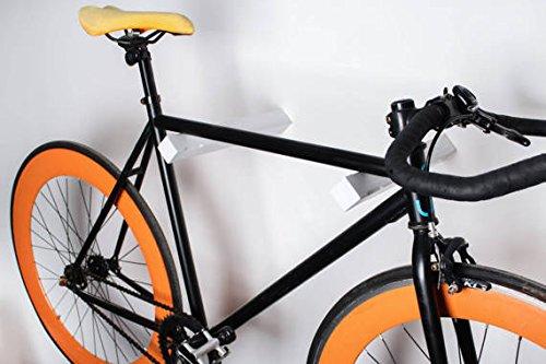 Varas pared colgar bicicleta Dublin - madera fresno