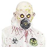 Horror Gasmaske Reaktorunfall Faschingsmaske Latex Monster Horrormaske Zombie Maske Halloween Masken gruselig Grusel Latexmaske Atemschutz Halloweenmaske radioaktiv