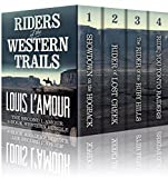 RIDERS OF THE WESTERN TRAILS: : The Second Louis L'Amour 4 Book Western Bundle - Sh...