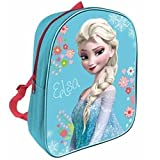 Disney Frozen Elsa Character Girls Junior Childrens Kids School Backpack Rucksack Bag