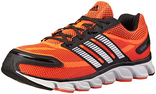 adidas , Herren Laufschuhe Solar Red/Metallic / Silver/Black 8 (M) UK