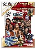 Topps FS0000715 Slam Attax WWE - Juego de Cartas, revistas, Campo de Juego, 4 Cartas coleccionables y una Tarjeta Limitada