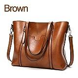Frauen Tasche berühmten Frauen Taschen Designer Handtasche Schultertasche aus weichem Leder mit hoher Kapazität Vintage Handtasche C 914 Braun ca. 32 cm 12 cm 29 cm